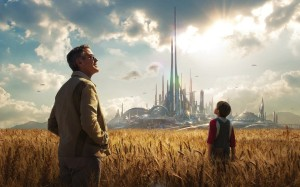 George Clooney in Disney's optimistic movie